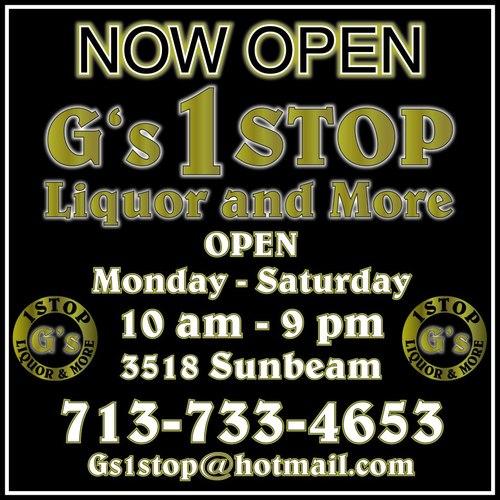 Business Spotlight: G's 1STOP Liquor and More