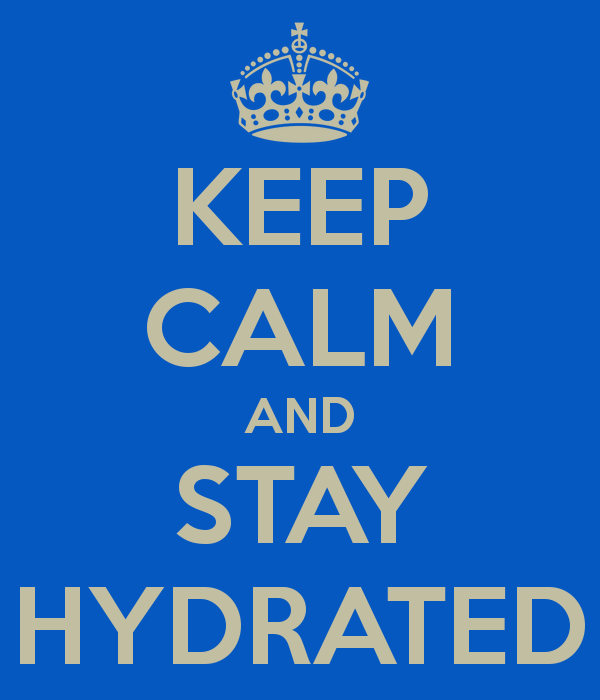 Hydrate or DIE!