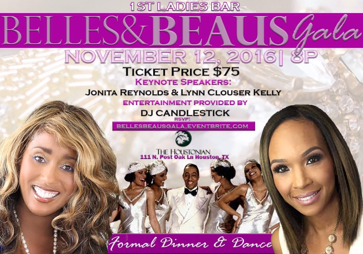 1st Ladies Bar features new signature cocktails for fall at the upcoming Belles & Beaus Gala